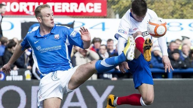 Highlights - Montrose 0-0 Rangers