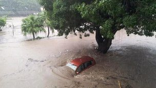 Port Louis floods - 30 March