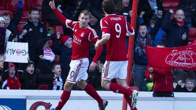 Highlights - Aberdeen 2-0 Hearts