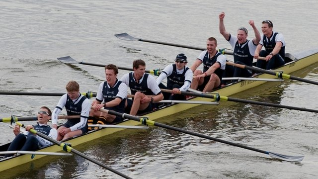 Oxford power to 2013 Boat Race win