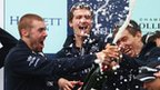Oxford celebrate Boat Race win