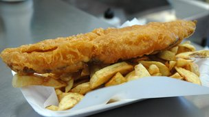 Fish and chips - file pic