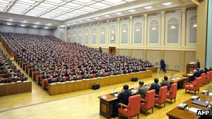 North Korea Workers' Party plenary meeting - 31 March