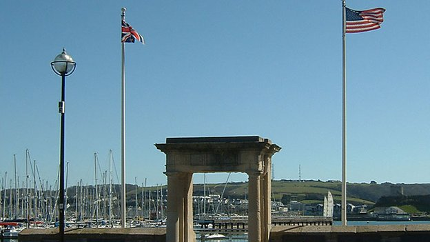 Mayflower Steps, Plymouth