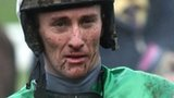 JT McNamara was left paralysed following a fall at the Cheltenham Festival