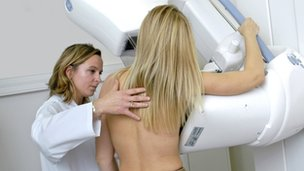 Mammogram/breast x-ray