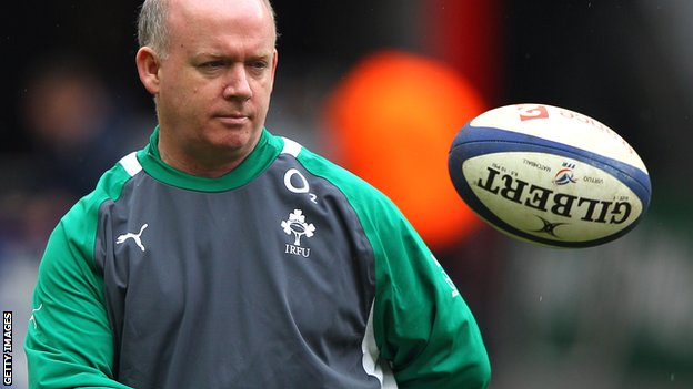 Departing Ireland coach Declan Kidney
