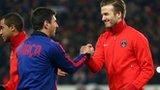 Lionel Messi & David Beckham
