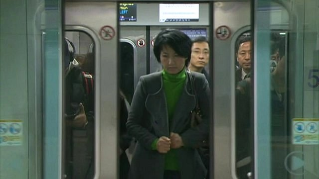 Underground station in Seoul
