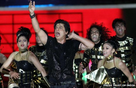 Shah Rukh Khan at IPL opening ceremony