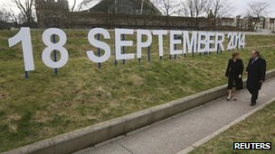 Sign saying 18 September