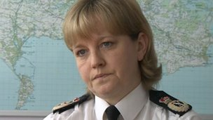 Chief Constable Debbie Simpson