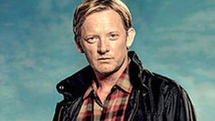 Douglas Henshall as detective Jimmy Perez