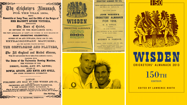 Wisden front covers