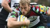 Harlequins captain Chris Robshaw