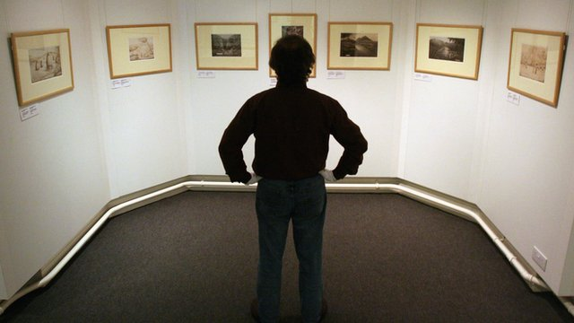 'Welsh Primitive' art exhibition at the Carmarthenshire County Museum , 2008