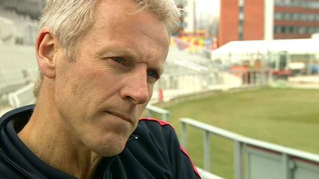 Lancashire head coach Peter Moores
