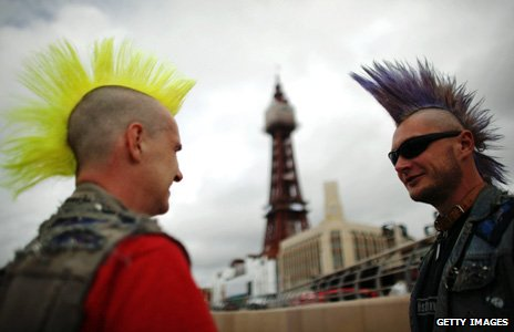 Punks in Blackpool