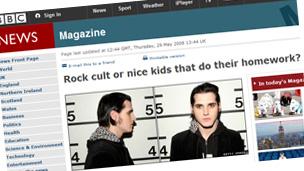 Rock cult or nice kids that do their homework?