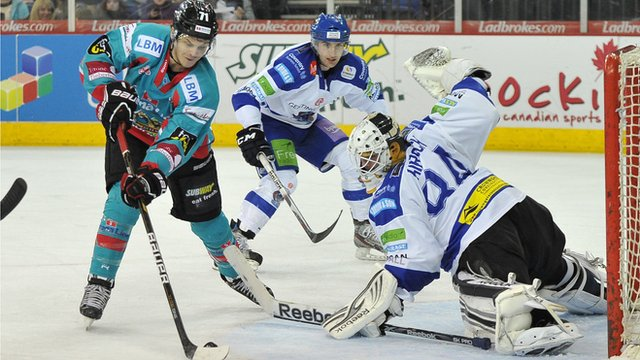 Craig Peacock in action for the Belfast Giants