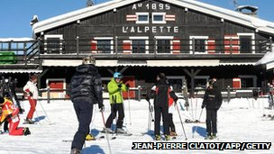 Megeve ski station