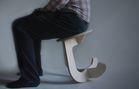 Rocking stool by Fabsie