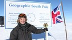 Doug at the South Pole