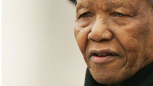 Former South African president Nelson Mandela in 2005