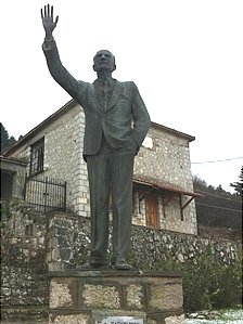 Statue of George Papandreou senior