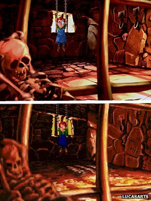 Monkey Island II special edition contrasted with the original Monkey Island II