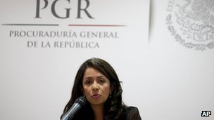Prosecutor Mariana Benitez (4 April,2013)