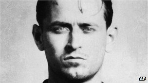 This 1954 Chicago police photo shows a man identified as James Earl Ray