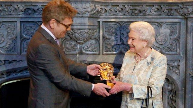 Queen receives Bafta