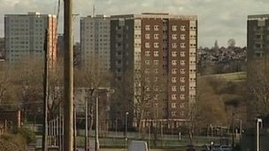 Council flats in Leeds