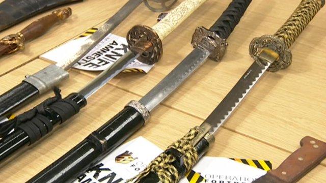 Knives amnesty