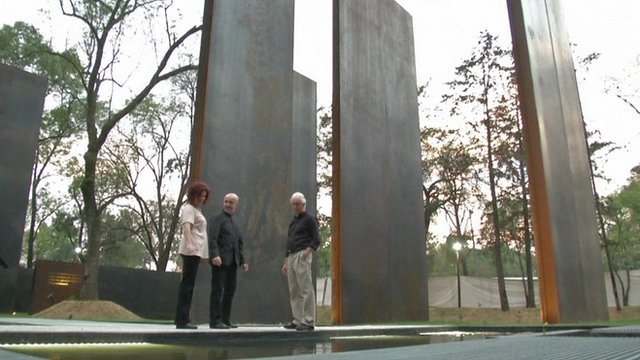 Memorial to victims of violence in Campo Marte, Mexico City