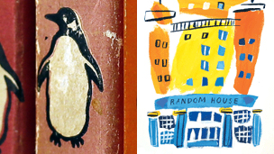 Pengion and Random House UK logos