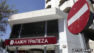 Laiki Bank in Cyprus