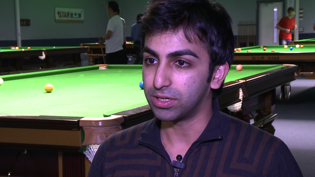 Eight-time world billiards champion Pankaj Advani