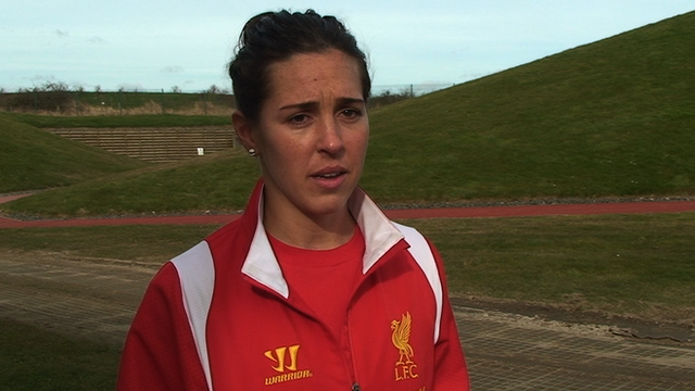 England midfielder Fara Williams