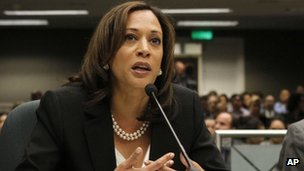 Kamala Harris file picture May 2012