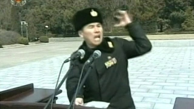 North Korean officer