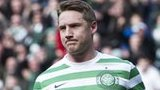 Kris Commons celebrates scoring for Celtic against Hibernian