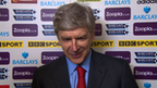 Wenger left hoarse by nervous finale