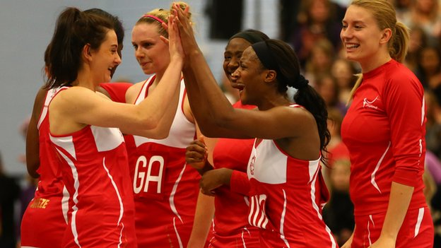 England netball players