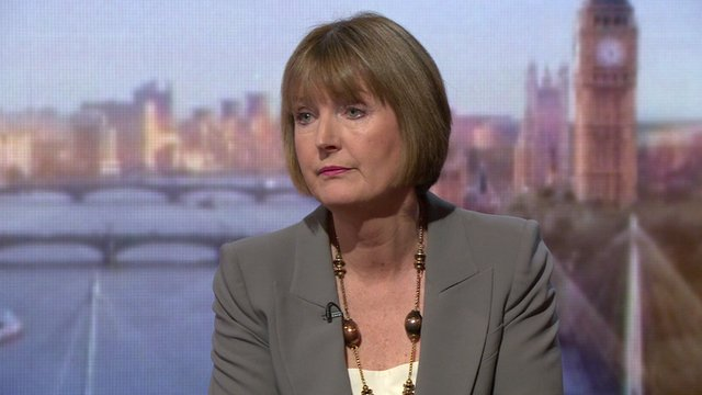 Harriet Harman MP on The Andrew Marr Show