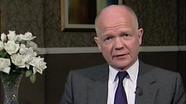 Foreign Secretary, William Hague MP