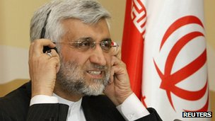 Iran's chief negotiator Saeed Jalili
