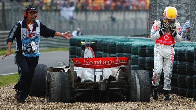 Formula 1 - Memorable moments from the Chinese Grand Prix