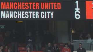 United 1-6 City scoreboard